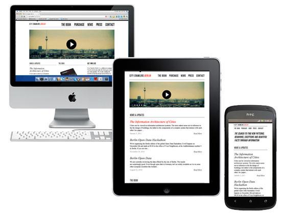 """Le """"responsive design"""" consiste à produire une mise en page flexible qui s'adapte à la multitude des conditions d'affichage"""