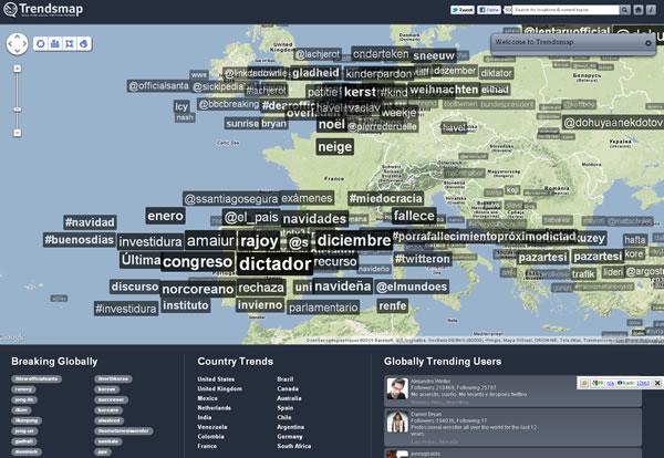 Les tendances de recherche locales en une prise d'écran