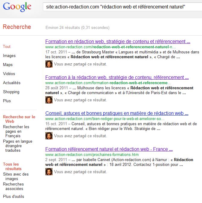 Outil pour détecter le contenu dupliqué : les commandes Google