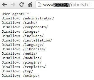 Le robots.txt bloque l'accès aux moteurs