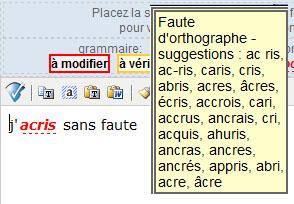 Test du dictionnaire en ligne bonpatron.com