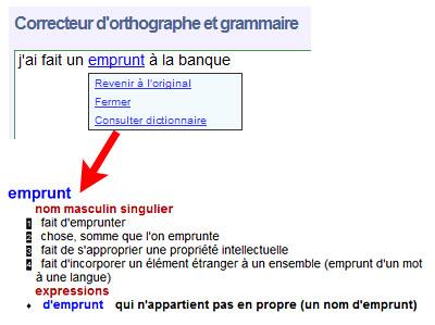 Test du dictionnaire en ligne Reverso