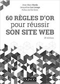 Livre 60 règles d'or pour réussir son site web - 2e édition