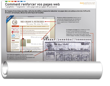 "Poster ""Comment renforcer vos pages web"""