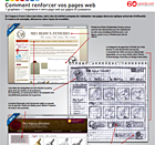 Relooking de page web poster