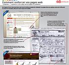 Relooking de page web poster