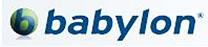 Logo du traducteur en ligne gratuit Babylon