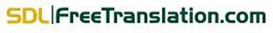 Logo du traducteur en ligne gratuit Free Translation