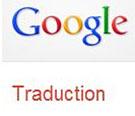 Le logo du traducteur en ligne sur Google Translate