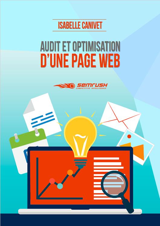 Isabelle Canivet -Tuto - audit SEO d'une page Web – e-book SEMRush