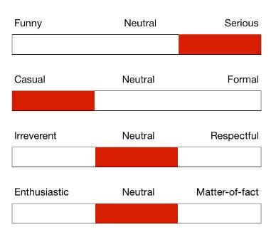 Etude sur l'impact de la tonalité éditoriale (source : Nielsen)