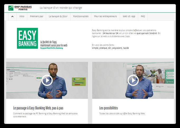 BNP Paribas annonce un changement de son service de banque en ligne