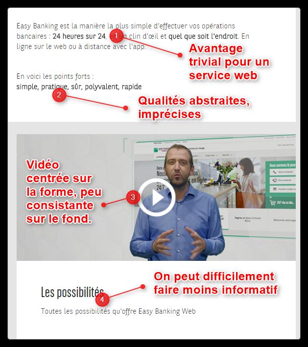 Le rédactionnel de BNP Paribas : très imprécis