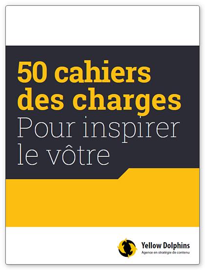 50 exemples de cahiers des charges web