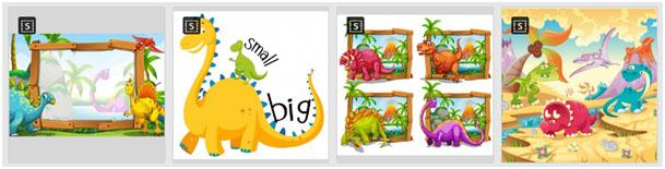 Freepick - images de dinosaures