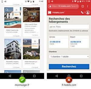 La géolocalisation sur mobile : bonne et mauvaise pratique