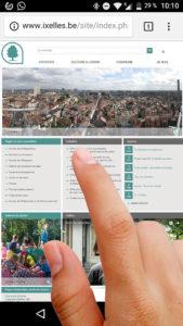L'ergonomie des zones cliquables sur mobile