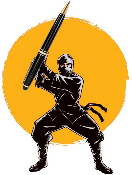 Ninja de la rédaction web